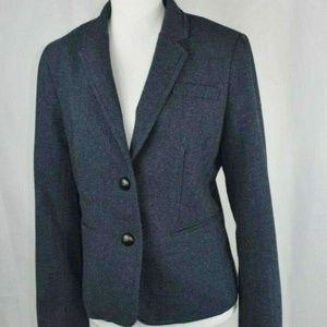 Banana Republic Navy Wool Jacket Blazer size 6